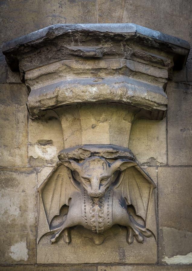 Gargulec statua obrazy royalty free