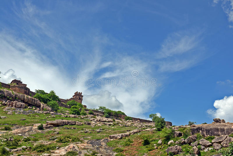 Garh Kundar fort obraz royalty free