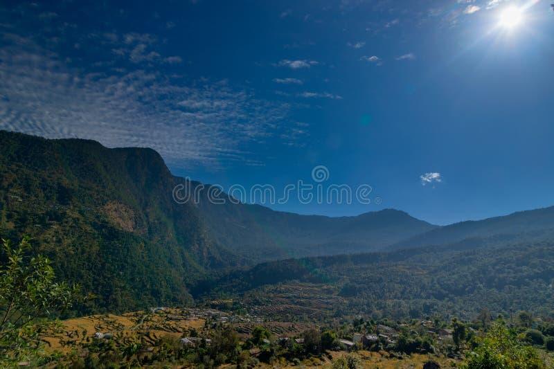 Garhwal Himalayas, India stock image