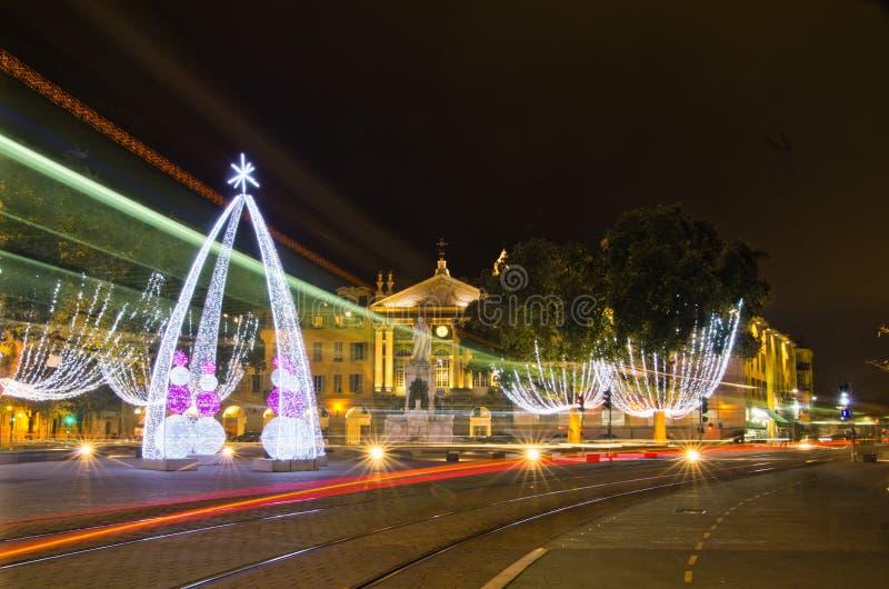 Garibaldi θέσεων, Νίκαια, Γαλλία στοκ φωτογραφία
