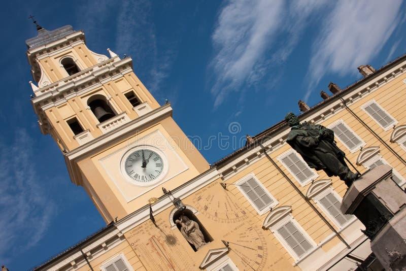 Download Garibaldi Gubernatora Italy Pałac Parma Piazza S Obraz Stock - Obraz złożonej z styl, architektoniczny: 13334157