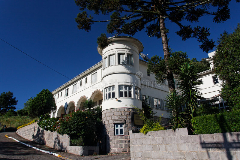 Garibaldi Hotel royalty free stock photography