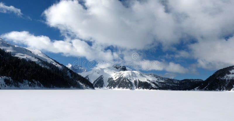 Garibaldi jezioro zdjęcie stock