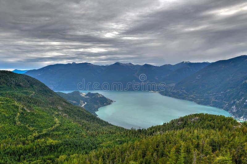Garibaldi Lake - Squamish, F. KR., Kanada royaltyfri foto