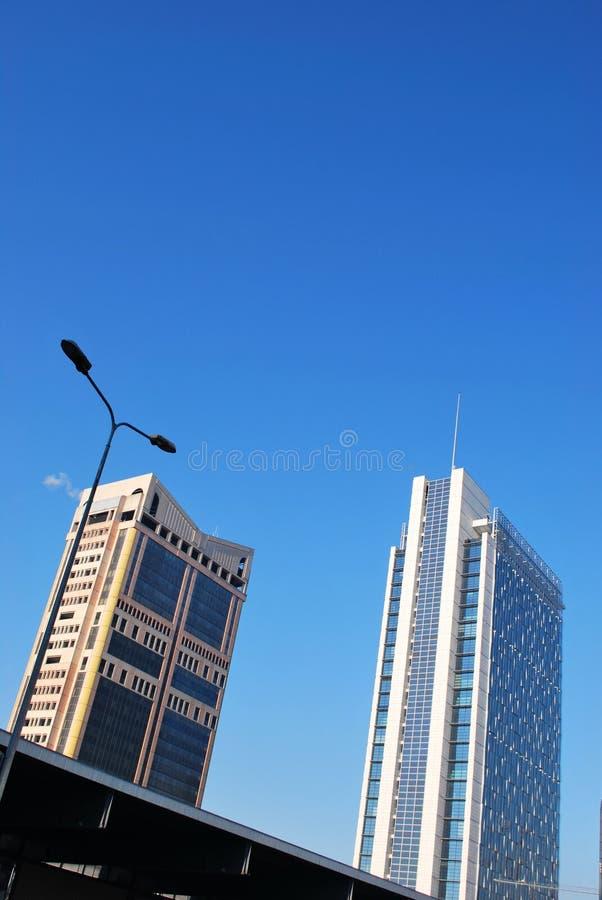 Garibaldi towers, Milan stock photography