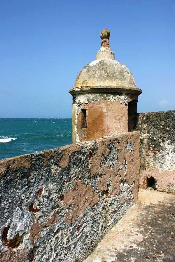 Garita del fuerte del nimo del ³ de San Gerà imagen de archivo