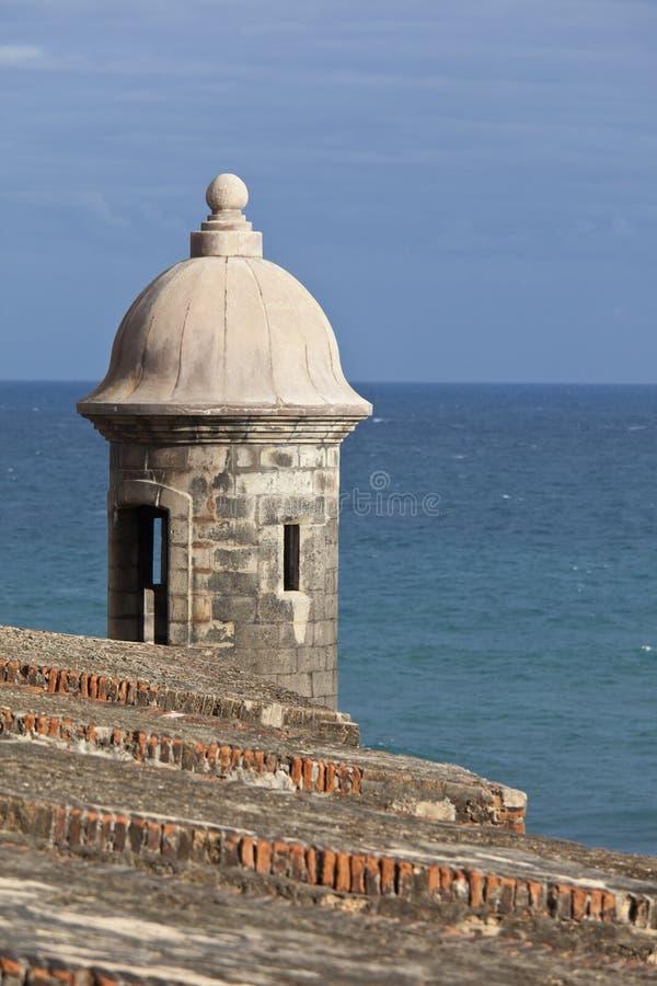 Garita, San Juan fotografía de archivo libre de regalías