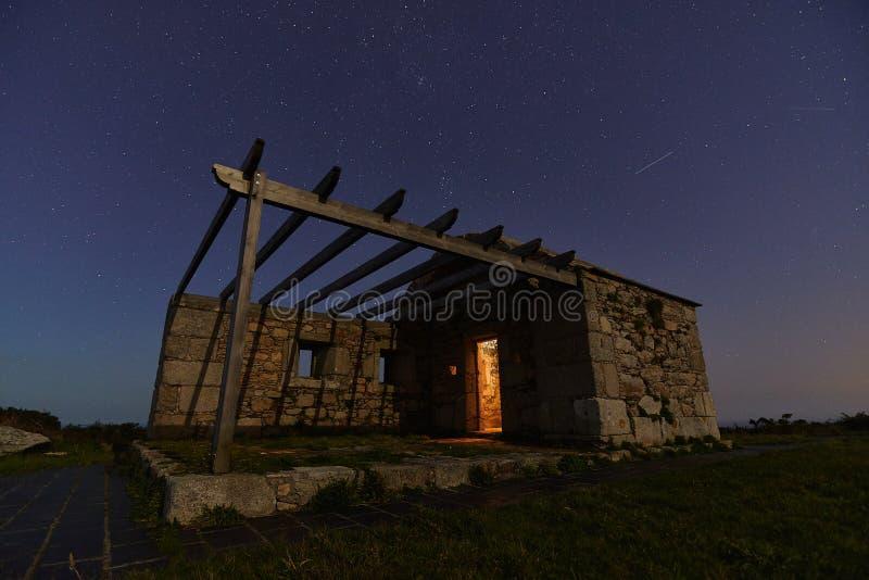 Garita unter den Sternen stockbilder