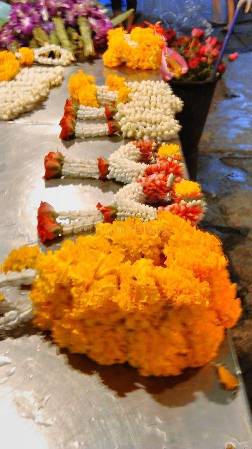 Download Garland stock image. Image of flowers, marigold, garland - 42616511