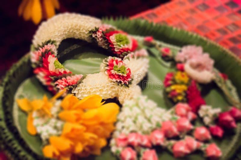 Garland Handmade Of Thailand tailandés foto de archivo libre de regalías