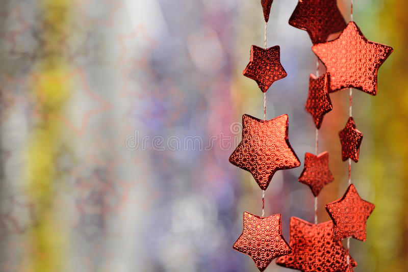 Download Garland of stars stock image. Image of macro, abstract - 26751113