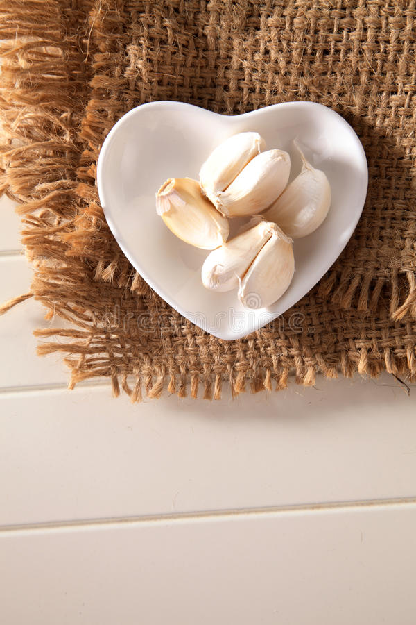 garlic imagem de stock