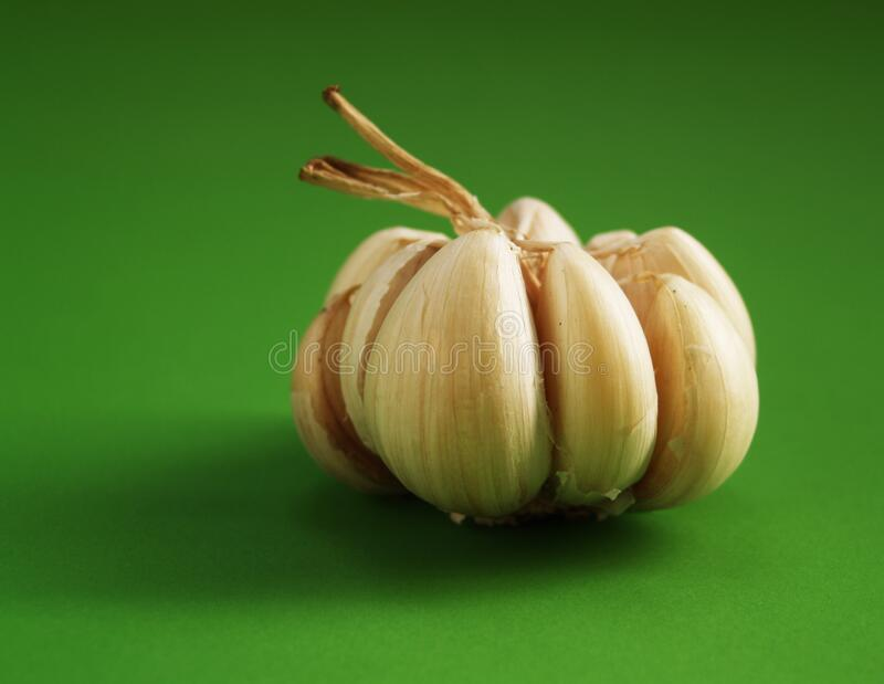 Garlic Clove stock image