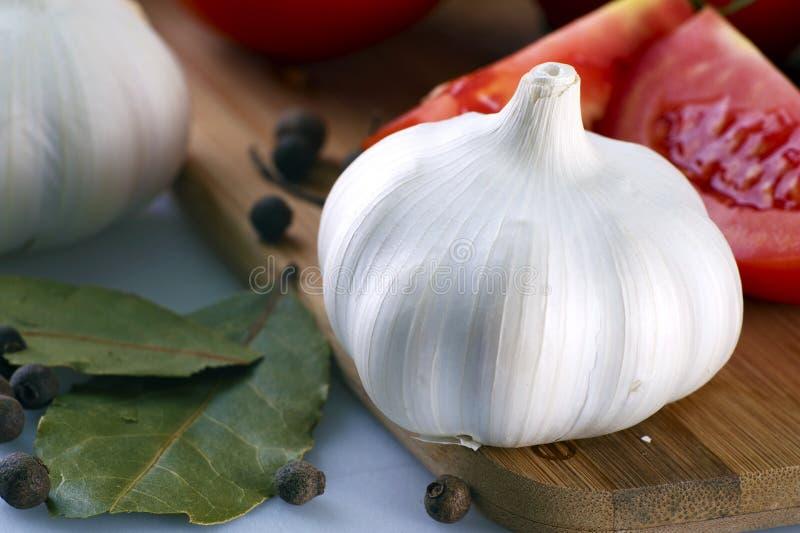 Garlic Fruit stock photography