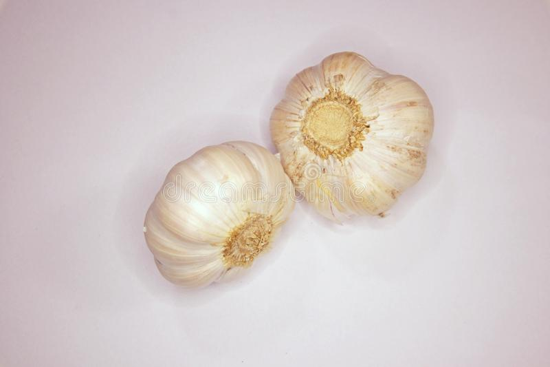 Garlic. Bulb vegetable with medicine properties royalty free stock photos