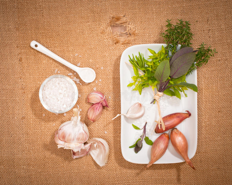 Download Garlic & Herbs Stock Images - Image: 21191344