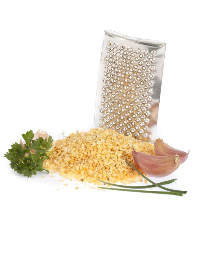 Garlic powder royalty free stock image