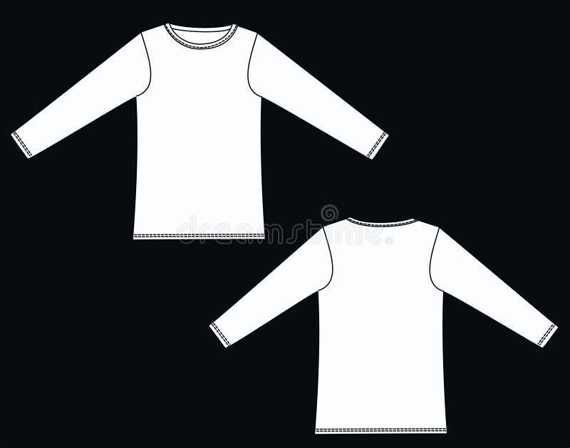 Garment sketch clothing royalty free stock photos