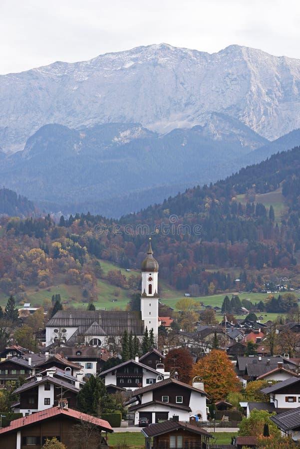 Garmisch partenkirchen стоковые изображения rf