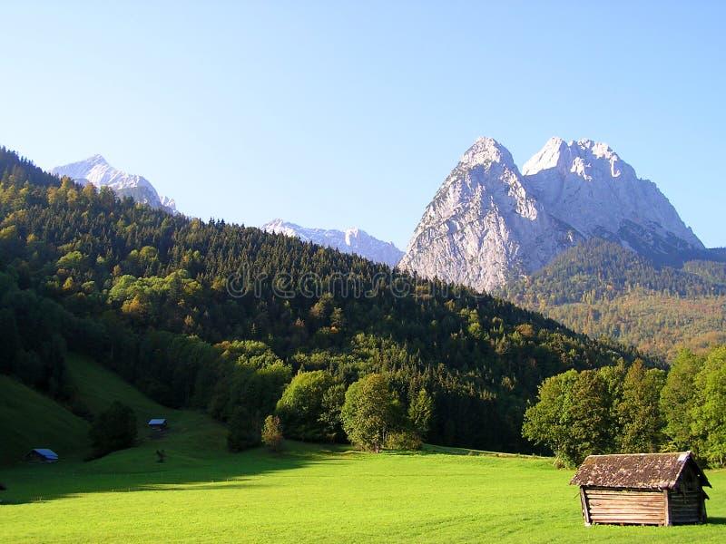 Garmisch Partenkirchen fotografía de archivo