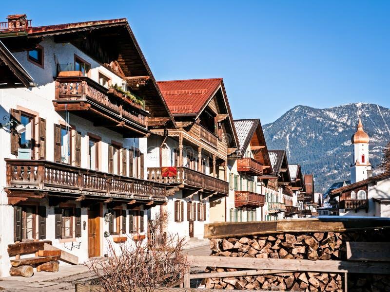 Garmisch partenkirchen zdjęcie stock