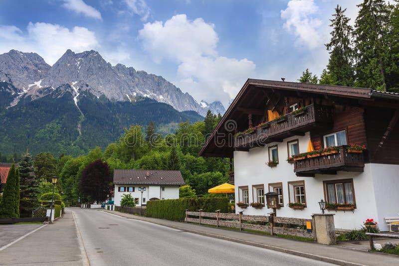 Garmisch partenkirchen royalty-vrije stock foto's
