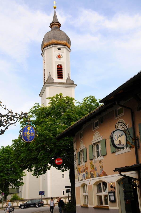Garmisch partenkirchen fotografia stock