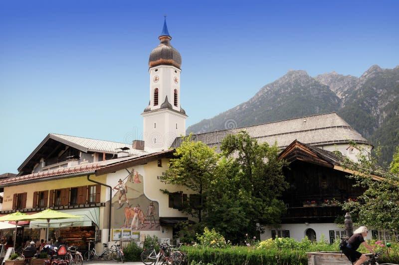 Garmisch partenkirchen obraz stock