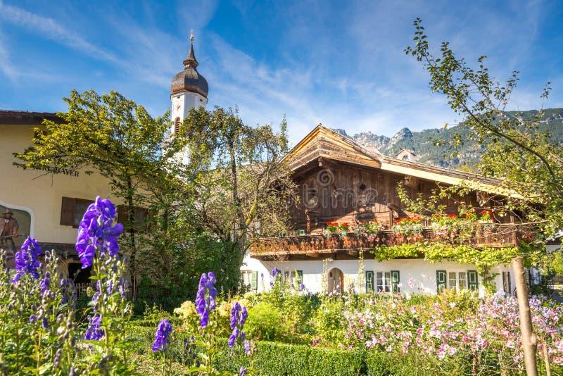 Garmisch-Partenkirchen imagenes de archivo