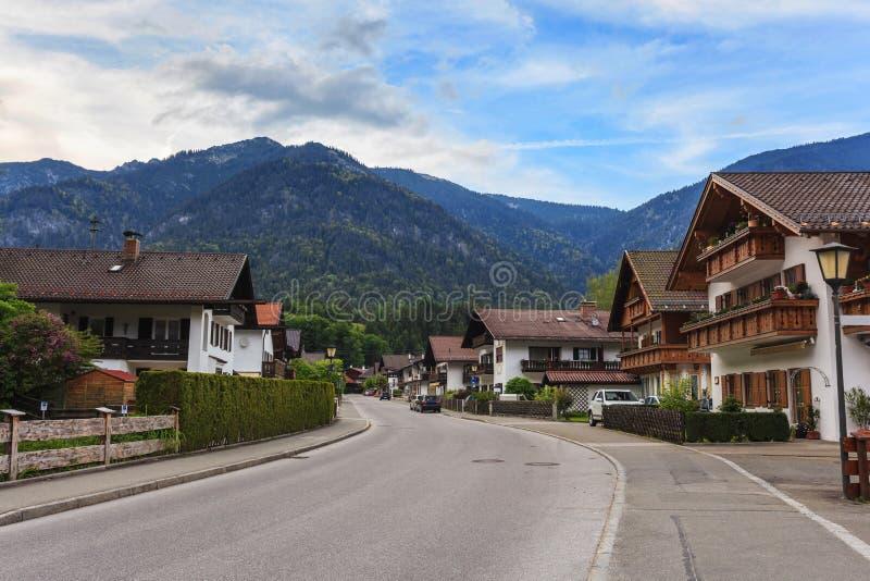 Garmisch Partenkirchen, Duitsland stock foto's