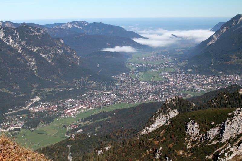 Garmisch-Partenkirchen, Germania fotografia stock libera da diritti
