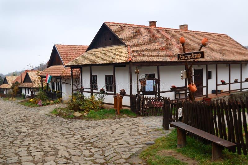 Garncarka dom, Hollà ³ kÅ `, Węgry zdjęcia royalty free