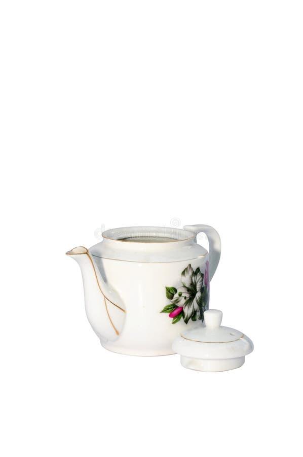 garnek stara herbata obraz stock