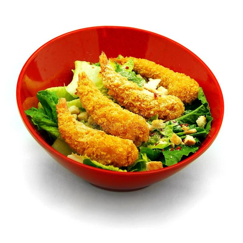 Garnele-Salat stockbilder