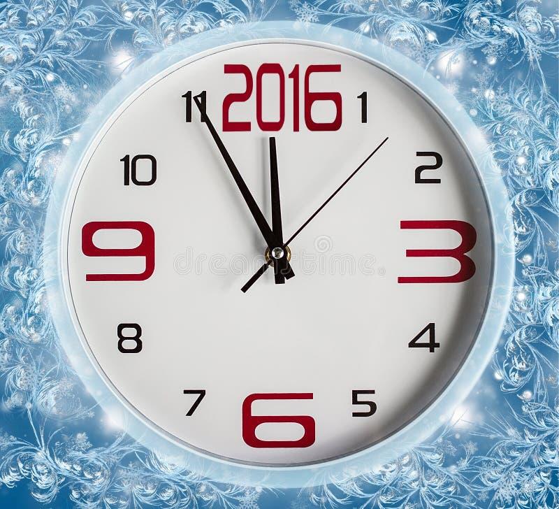 Garnering för nytt år, 2016 royaltyfria foton