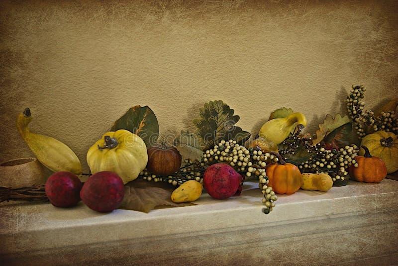 Garnering för tacksägelsenedgånggrönsak arkivbilder