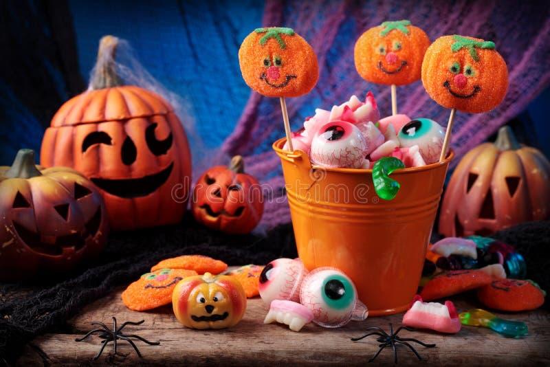 garnering halloween royaltyfri bild