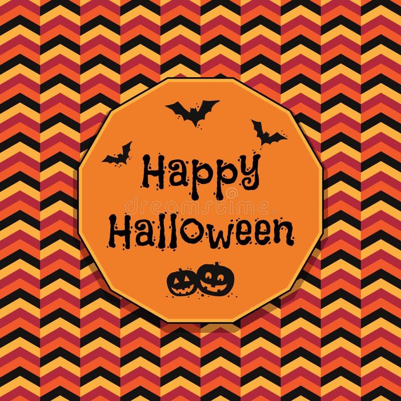 garnering halloween royaltyfri illustrationer