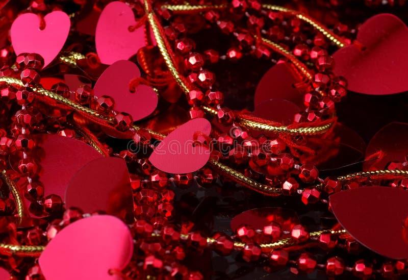 garneringhjärta arkivbild