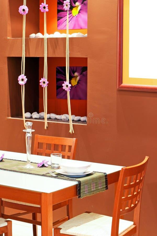 garneringmatsal fotografering för bildbyråer
