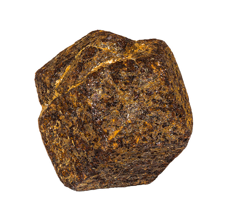 Garnet Crystal stock foto's