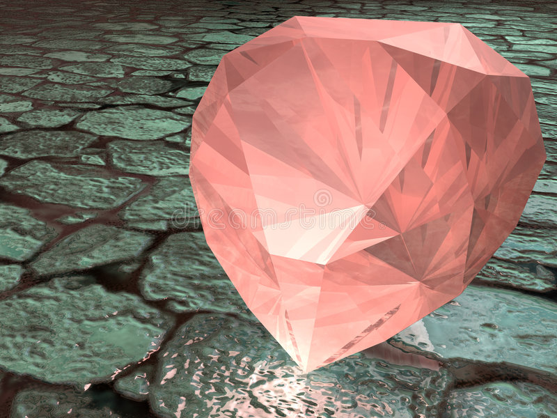 garnet gemstone obraz royalty free