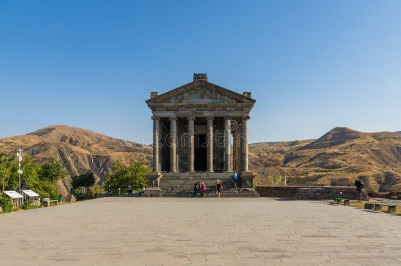 Garni,亚美尼亚寺庙  图库摄影