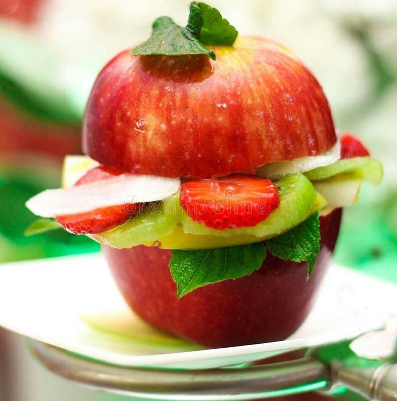 Garnish de fruta imagens de stock royalty free