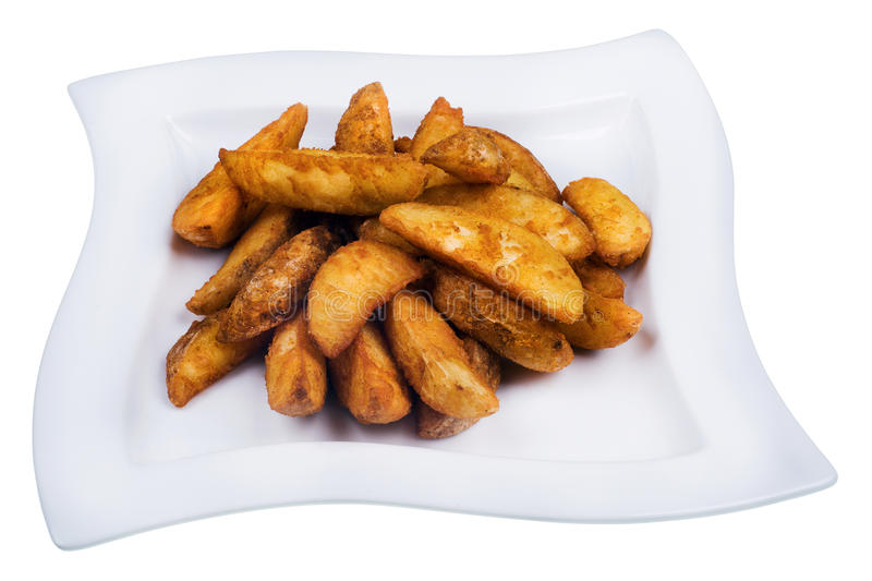 Download Garnish of French Fries stock image. Image of plate, fries - 28012009