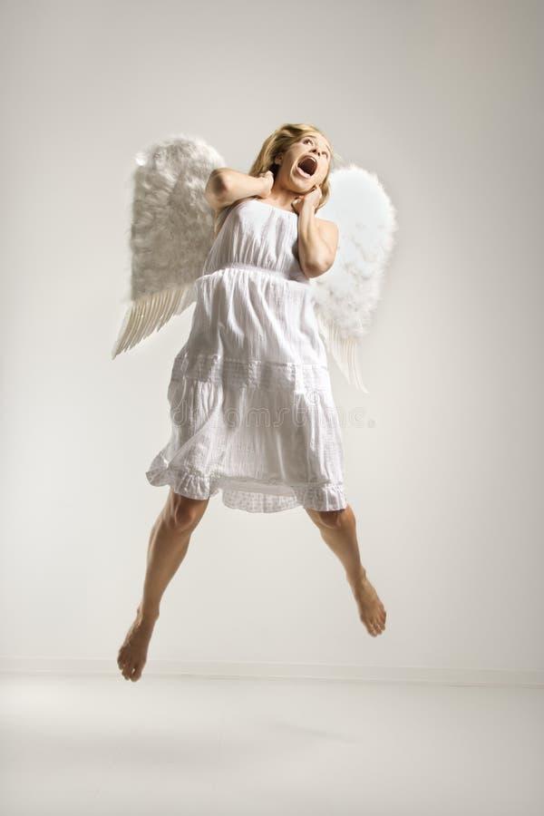 garnitur anioł kobieta zdjęcie royalty free