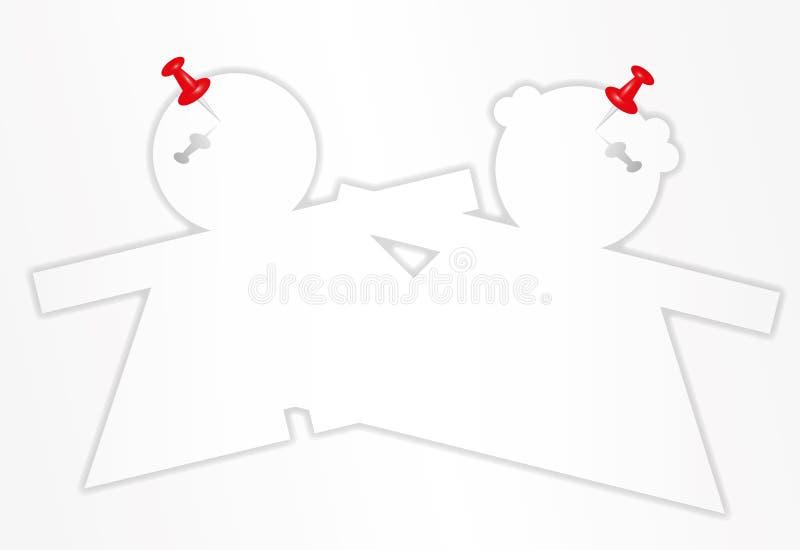 Garniture collante illustration libre de droits