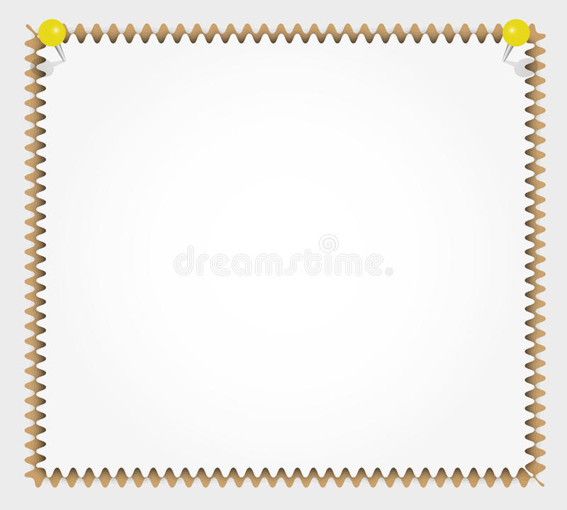 Garniture de papier neuve illustration libre de droits