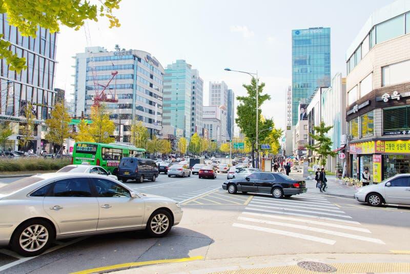 Garosugil In SinsadongSeoul Editorial Image Image of downtown