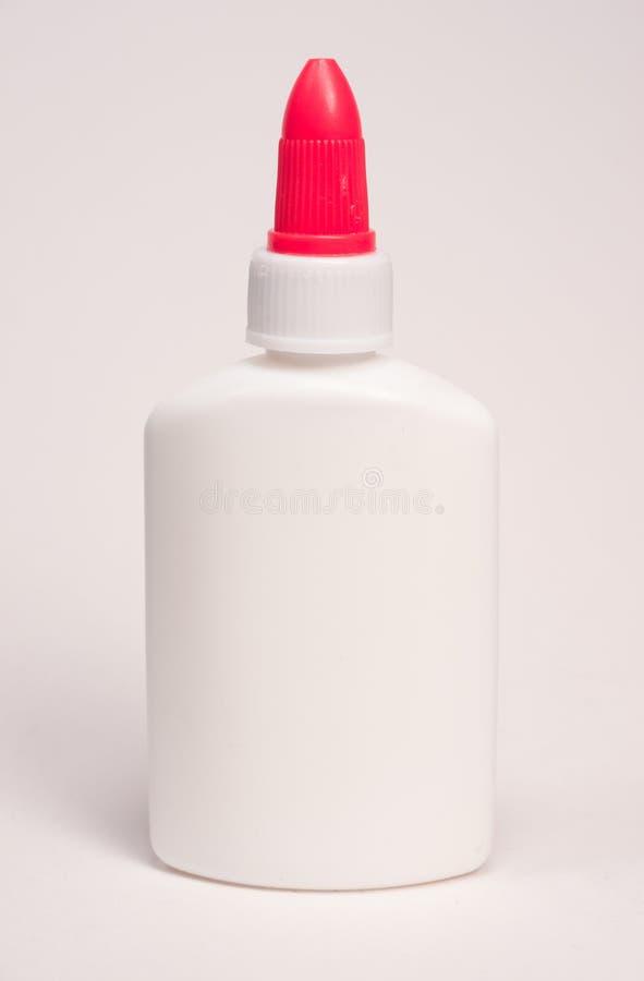 Garrafa branca da colagem foto de stock